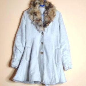 Long Fur Winter Coat